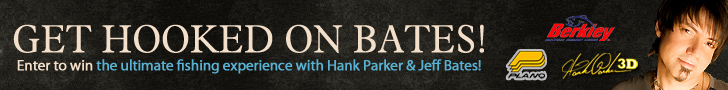 Enter to win the ultimate fishing experience with Hank Parker & Jeff Bates!